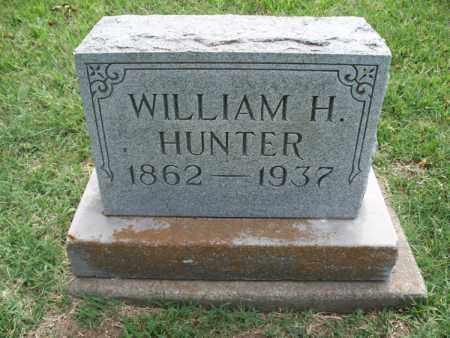 HUNTER, WILLIAM H. - Montgomery County, Kansas   WILLIAM H. HUNTER - Kansas Gravestone Photos