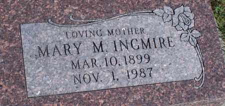 INGMIRE, MARY M. - Montgomery County, Kansas   MARY M. INGMIRE - Kansas Gravestone Photos