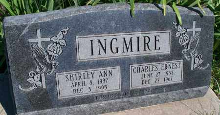 INGMIRE, CHARLES ERNEST - Montgomery County, Kansas | CHARLES ERNEST INGMIRE - Kansas Gravestone Photos