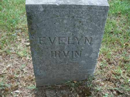 IRVIN, EVELYN - Montgomery County, Kansas | EVELYN IRVIN - Kansas Gravestone Photos