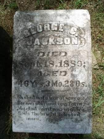 JACKSON, GEORGE C. - Montgomery County, Kansas | GEORGE C. JACKSON - Kansas Gravestone Photos