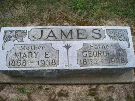 JAMES, GEORGE T - Montgomery County, Kansas   GEORGE T JAMES - Kansas Gravestone Photos
