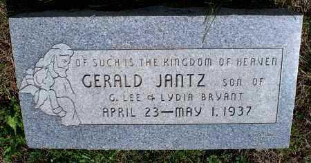 BRYANT, GERALD JANTZ - Montgomery County, Kansas | GERALD JANTZ BRYANT - Kansas Gravestone Photos