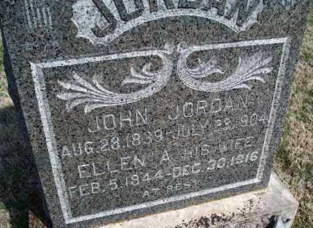JORDAN, ELLEN A. - Montgomery County, Kansas | ELLEN A. JORDAN - Kansas Gravestone Photos
