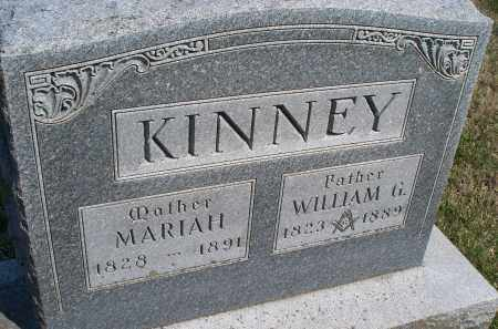 KINNEY, WILLIAM G. - Montgomery County, Kansas | WILLIAM G. KINNEY - Kansas Gravestone Photos