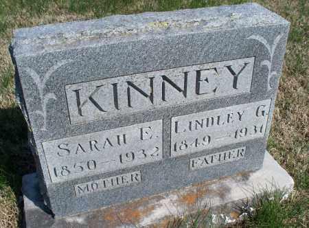KINNEY, SARAH E. - Montgomery County, Kansas | SARAH E. KINNEY - Kansas Gravestone Photos