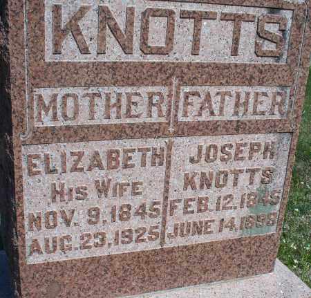 KNOTTS, JOSEPH - Montgomery County, Kansas   JOSEPH KNOTTS - Kansas Gravestone Photos