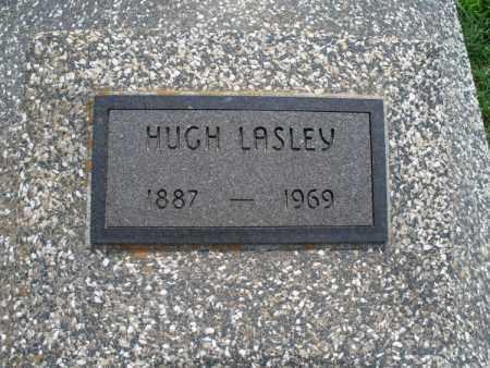 LASLEY, HUGH - Montgomery County, Kansas | HUGH LASLEY - Kansas Gravestone Photos