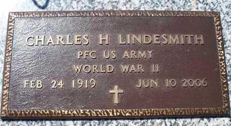 LINDESMITH, CHARLES H   (VETERAN WWII) - Montgomery County, Kansas | CHARLES H   (VETERAN WWII) LINDESMITH - Kansas Gravestone Photos