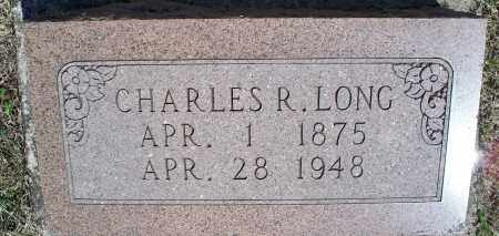LONG, CHARLES R. - Montgomery County, Kansas | CHARLES R. LONG - Kansas Gravestone Photos