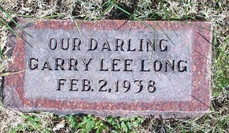LONG, GARRY LEE - Montgomery County, Kansas | GARRY LEE LONG - Kansas Gravestone Photos