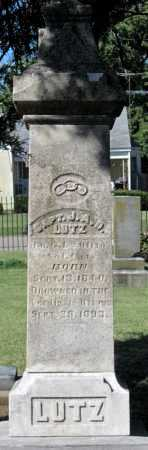 LUTZ, J A D   (VETERAN UNION - Montgomery County, Kansas | J A D   (VETERAN UNION LUTZ - Kansas Gravestone Photos