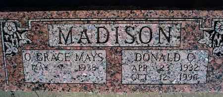 MADISON, DONALD C. - Montgomery County, Kansas | DONALD C. MADISON - Kansas Gravestone Photos