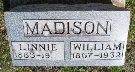 MADISON, WILLIAM - Montgomery County, Kansas | WILLIAM MADISON - Kansas Gravestone Photos