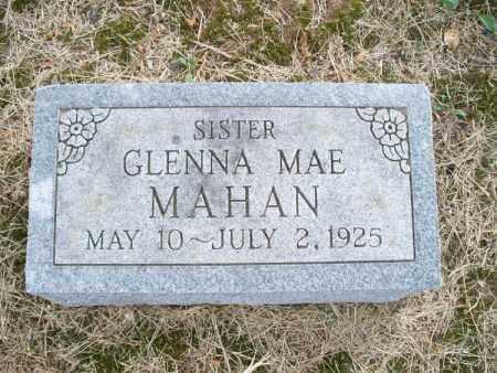 MAHAN, GLENNA MAE - Montgomery County, Kansas | GLENNA MAE MAHAN - Kansas Gravestone Photos