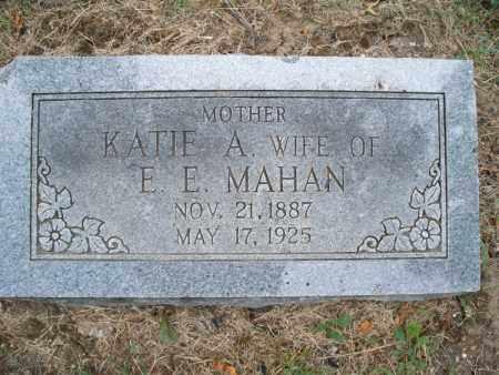 MAHAN, KATIE A. - Montgomery County, Kansas   KATIE A. MAHAN - Kansas Gravestone Photos