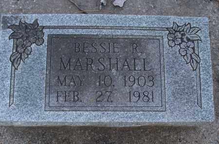 MARSHALL, BESSIE R. - Montgomery County, Kansas | BESSIE R. MARSHALL - Kansas Gravestone Photos