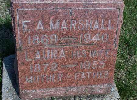 MARSHALL, LAURA - Montgomery County, Kansas | LAURA MARSHALL - Kansas Gravestone Photos