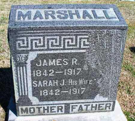 MARSHALL, SARAH J. - Montgomery County, Kansas | SARAH J. MARSHALL - Kansas Gravestone Photos
