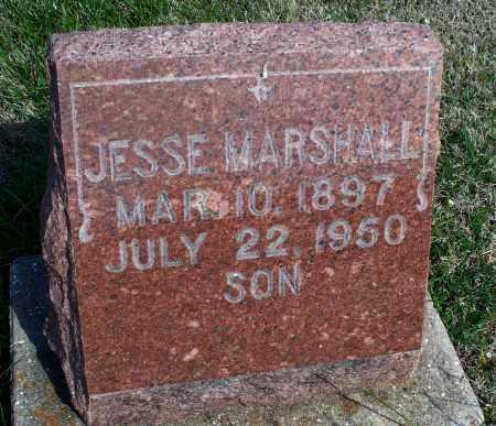 MARSHALL, JESSE - Montgomery County, Kansas | JESSE MARSHALL - Kansas Gravestone Photos