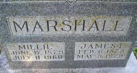 MARSHALL, MILLIE - Montgomery County, Kansas | MILLIE MARSHALL - Kansas Gravestone Photos