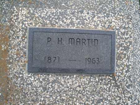 MARTIN, P. H. - Montgomery County, Kansas | P. H. MARTIN - Kansas Gravestone Photos