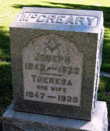 MCCREARY, JOSEPH - Montgomery County, Kansas | JOSEPH MCCREARY - Kansas Gravestone Photos