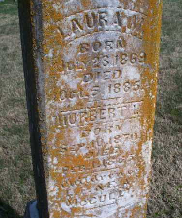 MCCULLY, LAURA M. - Montgomery County, Kansas | LAURA M. MCCULLY - Kansas Gravestone Photos