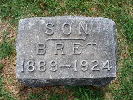 MCKENNAN, BRET - Montgomery County, Kansas | BRET MCKENNAN - Kansas Gravestone Photos