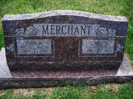 MERCHANT, CORA M. - Montgomery County, Kansas | CORA M. MERCHANT - Kansas Gravestone Photos