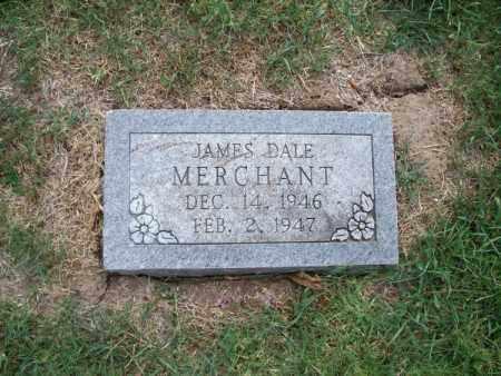 MERCHANT, JAMES DALE - Montgomery County, Kansas | JAMES DALE MERCHANT - Kansas Gravestone Photos