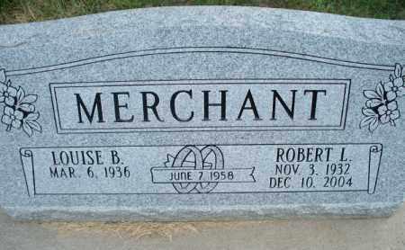 MERCHANT, ROBERT L. - Montgomery County, Kansas   ROBERT L. MERCHANT - Kansas Gravestone Photos