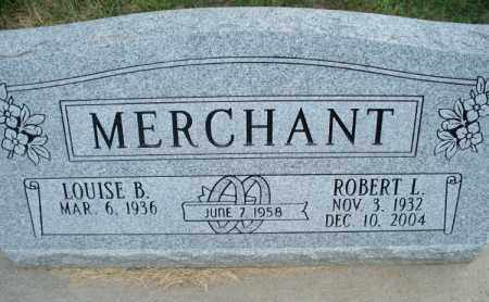 MERCHANT, ROBERT L. - Montgomery County, Kansas | ROBERT L. MERCHANT - Kansas Gravestone Photos