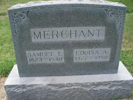 MERCHANT, LOUISA A - Montgomery County, Kansas | LOUISA A MERCHANT - Kansas Gravestone Photos