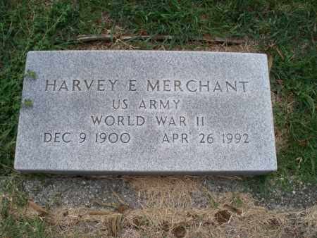 MERCHANT, HARVEY E  (VETERAN WWII) - Montgomery County, Kansas | HARVEY E  (VETERAN WWII) MERCHANT - Kansas Gravestone Photos