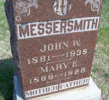 MESSERSMITH, MARY E. - Montgomery County, Kansas   MARY E. MESSERSMITH - Kansas Gravestone Photos