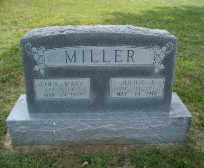 MILLER, JULIUS A. - Montgomery County, Kansas | JULIUS A. MILLER - Kansas Gravestone Photos