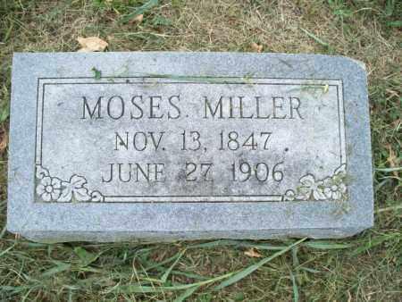 MILLER, MOSES - Montgomery County, Kansas | MOSES MILLER - Kansas Gravestone Photos