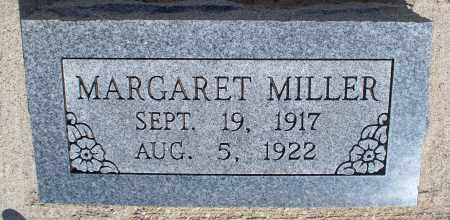 MILLER, MARGARET - Montgomery County, Kansas | MARGARET MILLER - Kansas Gravestone Photos