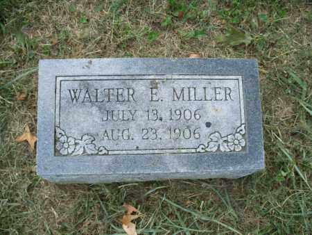 MILLER, WALTER E. - Montgomery County, Kansas   WALTER E. MILLER - Kansas Gravestone Photos