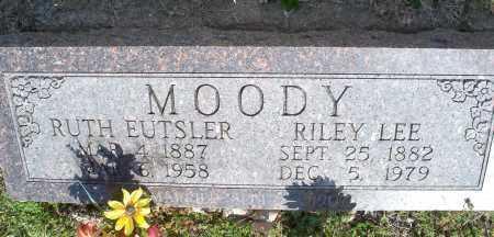 MOODY, RILEY LEE - Montgomery County, Kansas | RILEY LEE MOODY - Kansas Gravestone Photos