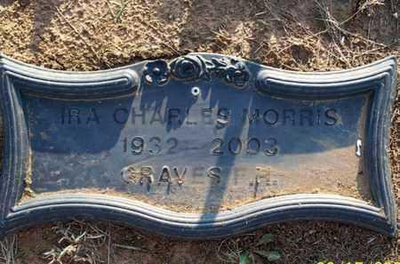 MORRIS, IRA CHARLES - Montgomery County, Kansas | IRA CHARLES MORRIS - Kansas Gravestone Photos