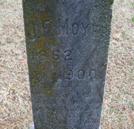 MOYER, J. F. - Montgomery County, Kansas | J. F. MOYER - Kansas Gravestone Photos