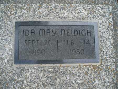 NEIDIGH, IDA MAY - Montgomery County, Kansas | IDA MAY NEIDIGH - Kansas Gravestone Photos