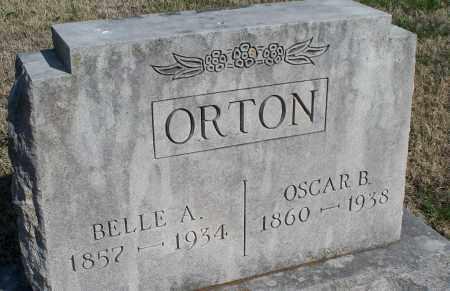 ORTON, OSCAR B. - Montgomery County, Kansas | OSCAR B. ORTON - Kansas Gravestone Photos