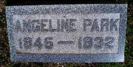 PARK, ANGELINE - Montgomery County, Kansas | ANGELINE PARK - Kansas Gravestone Photos