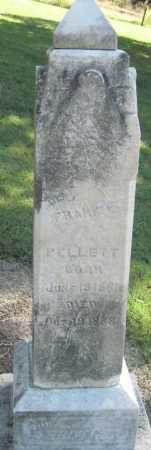 PELLETT, FRANK L - Montgomery County, Kansas | FRANK L PELLETT - Kansas Gravestone Photos