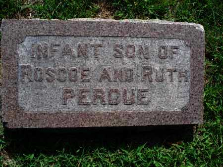 PERDUE, INFANT SON - Montgomery County, Kansas | INFANT SON PERDUE - Kansas Gravestone Photos