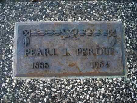 PERDUE, PEARL L - Montgomery County, Kansas   PEARL L PERDUE - Kansas Gravestone Photos