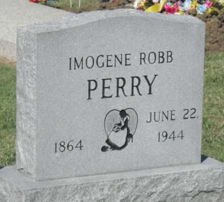 ROBB PERRY, IMOGENE - Montgomery County, Kansas | IMOGENE ROBB PERRY - Kansas Gravestone Photos